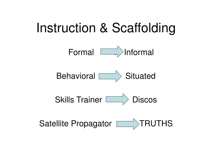 Instruction & Scaffolding