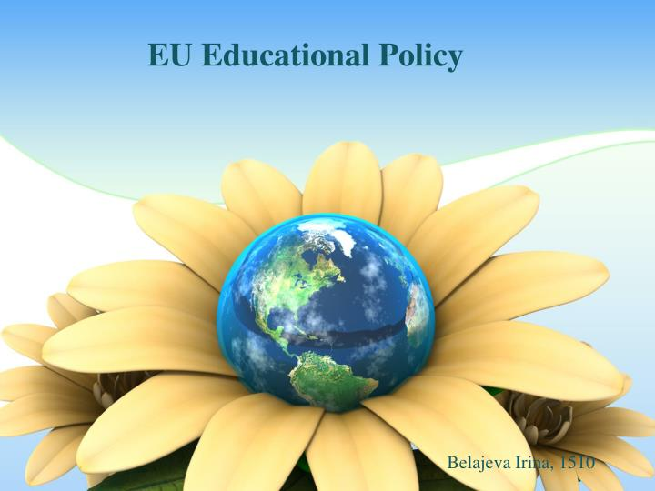 Eu educational policy