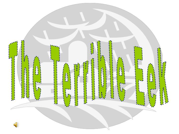 The Terrible Eek