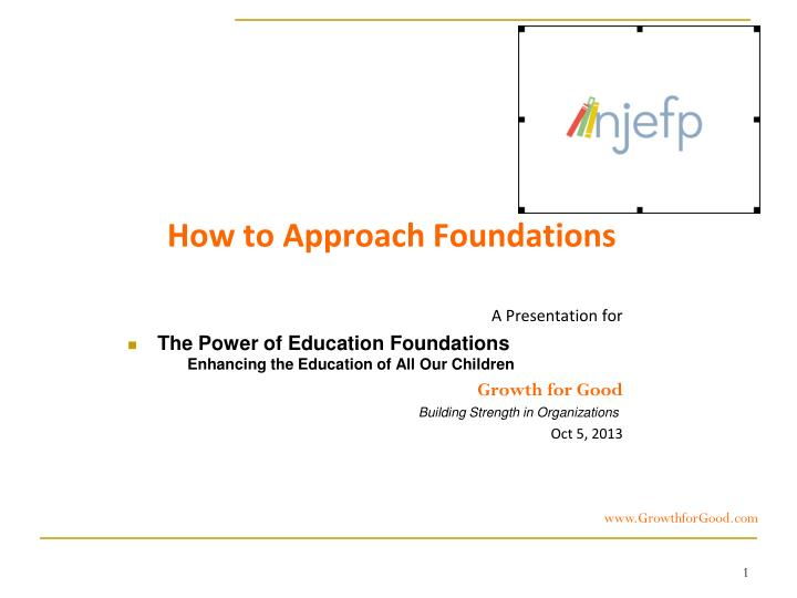 How to Approach Foundations