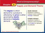 supply and demand theory1