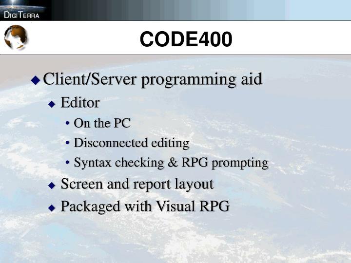 CODE400