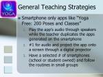 general teaching strategies3