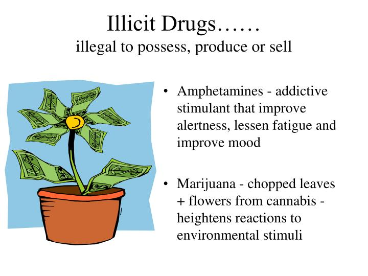 Illicit Drugs……