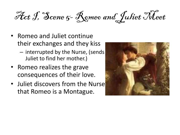 scene when romeo and juliet meet