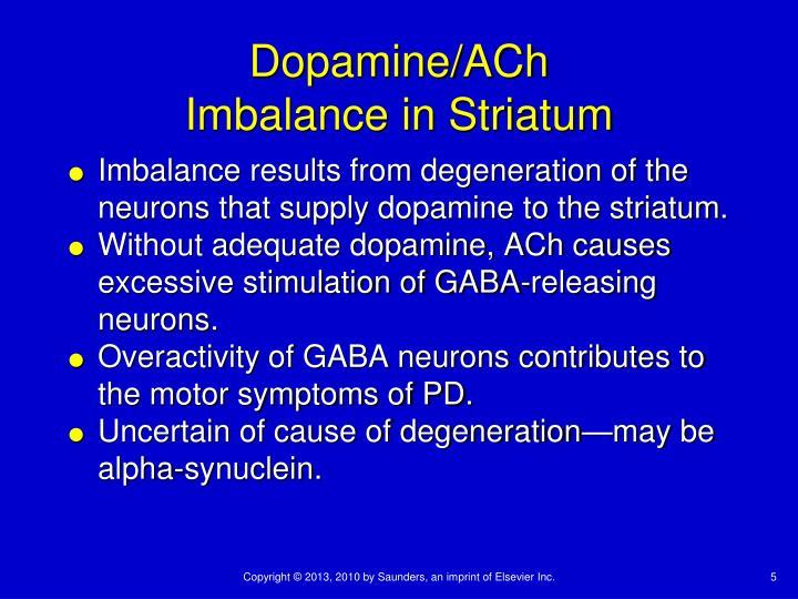 Dopamine/ACh