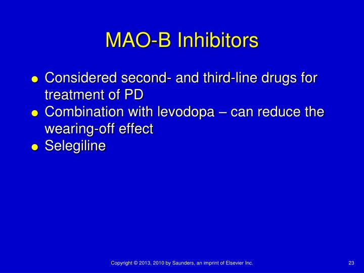 MAO-B Inhibitors