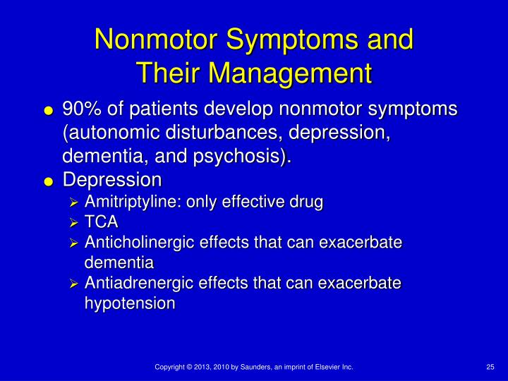 Nonmotor Symptoms and