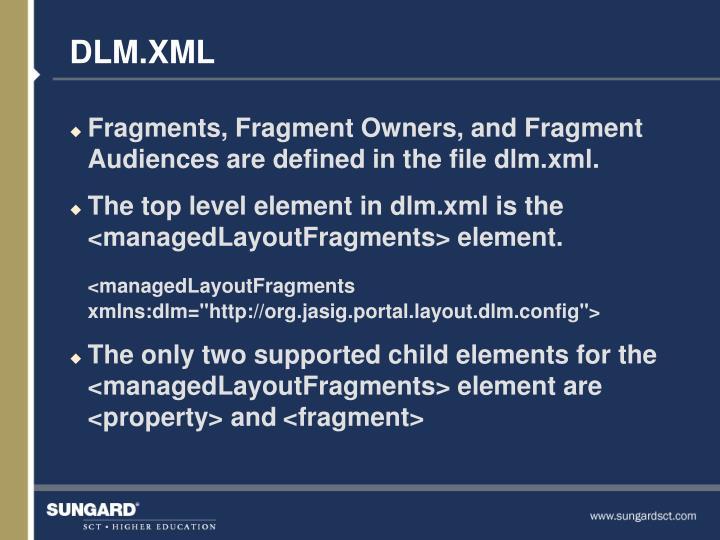 DLM.XML