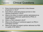 clinical questions1
