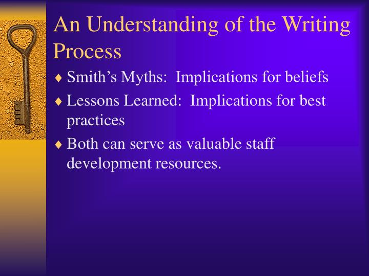 An Understanding of the Writing Process