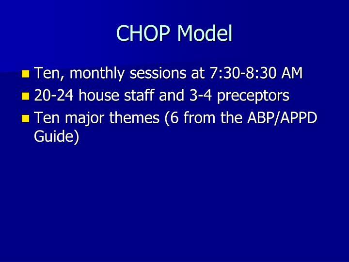 CHOP Model