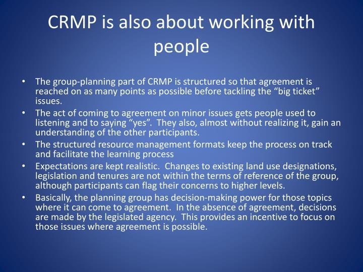CRMP is