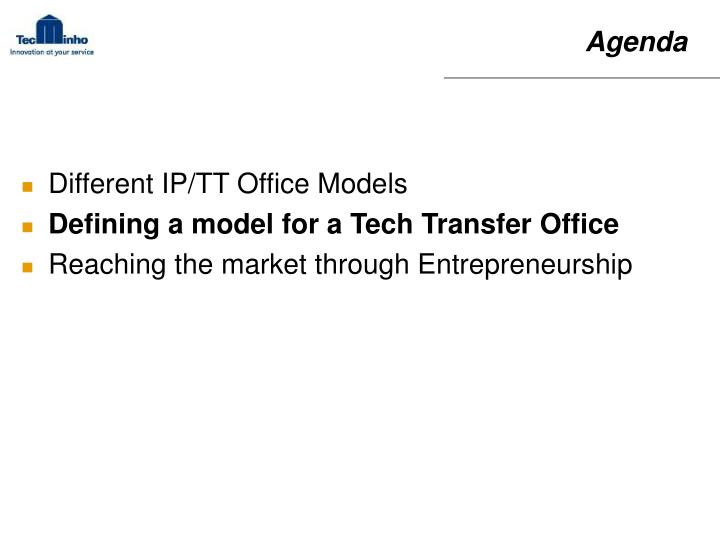 Different IP/TT Office Models