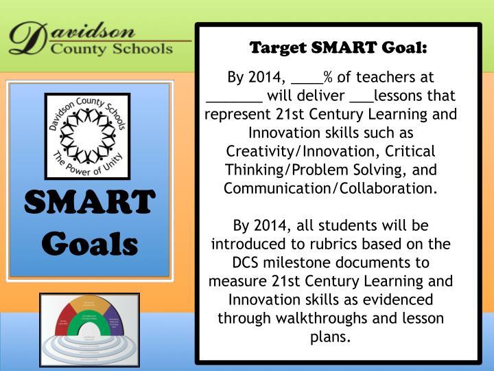 Target SMART Goal: