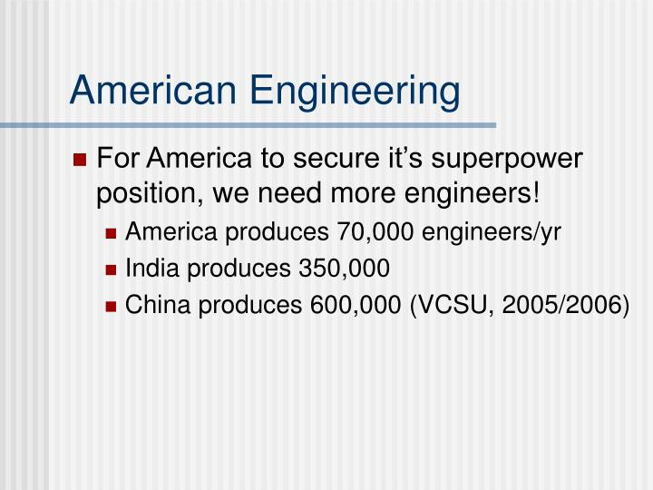 American Engineering
