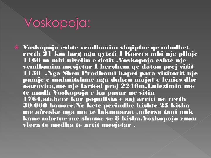 Voskopoja