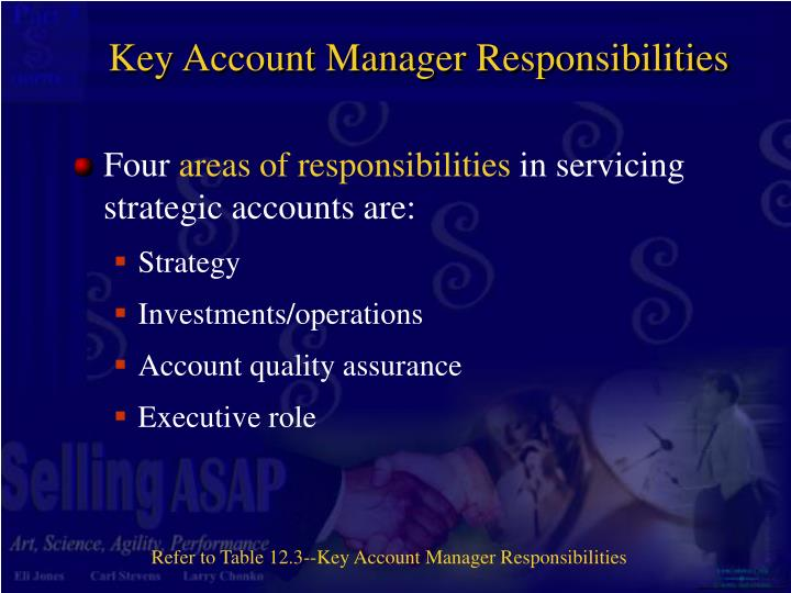 Key Account Manager Responsibilities