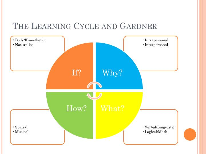 The Learning Cycle and Gardner