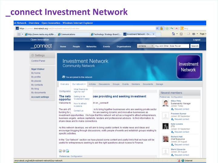 _connect Investment Network