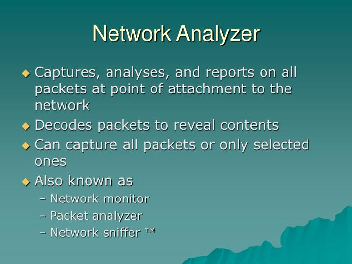 Network analyzer