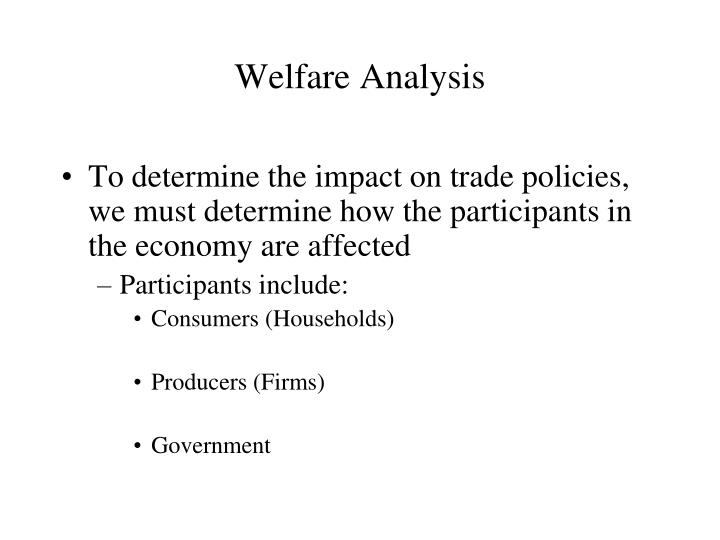 Welfare analysis1