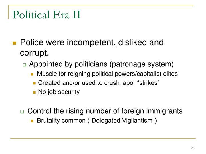 Political Era II
