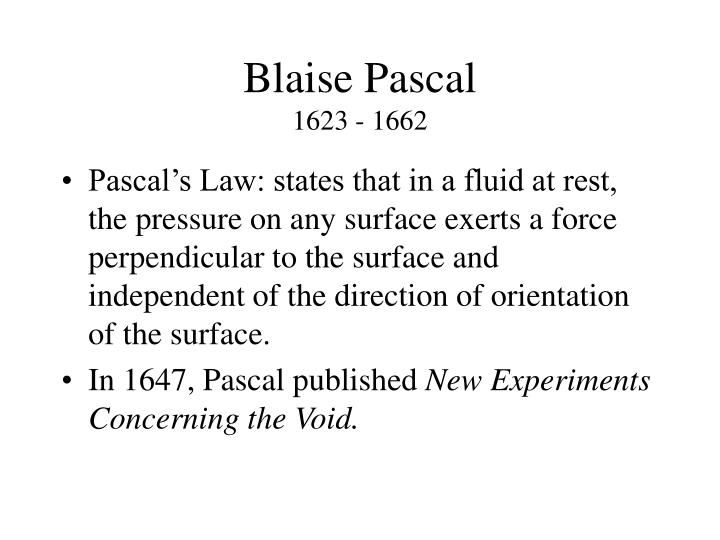 blaise pascals essay on conic sections Blaise pascal was born at clermont, auvergne, france on june 19, 1628 he was the son of Étienne pascal, his father, and antoinette bégone, his mother who died when.