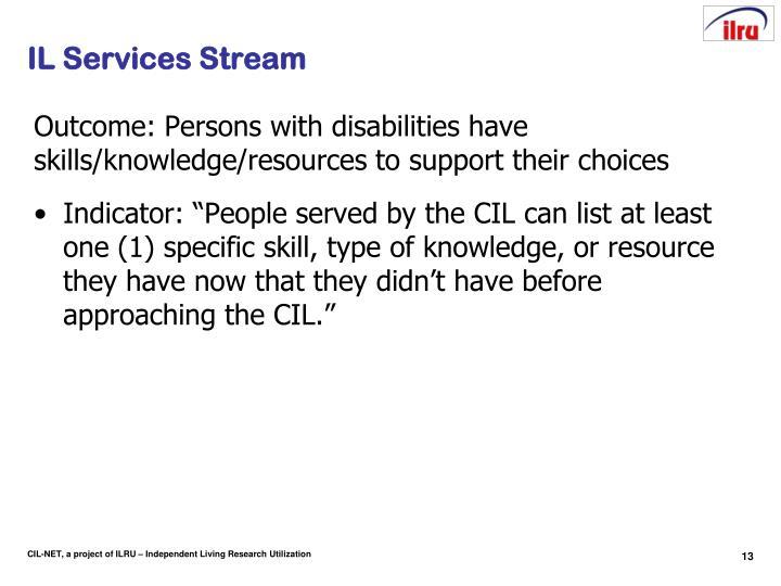 IL Services Stream