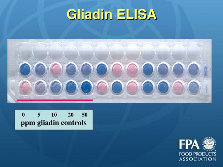 Gliadin ELISA