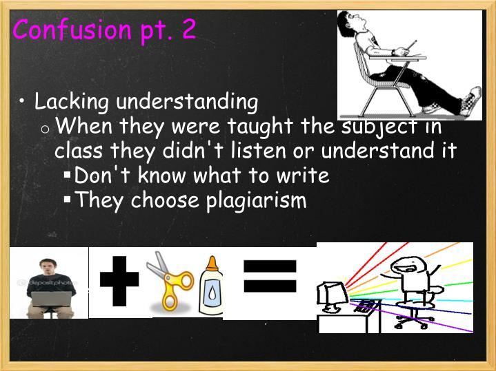 Confusion pt. 2