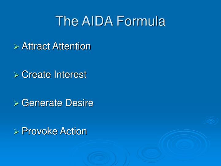 The AIDA Formula