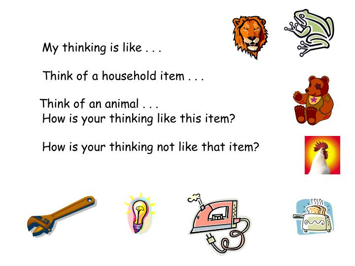 Think of an animal . . .