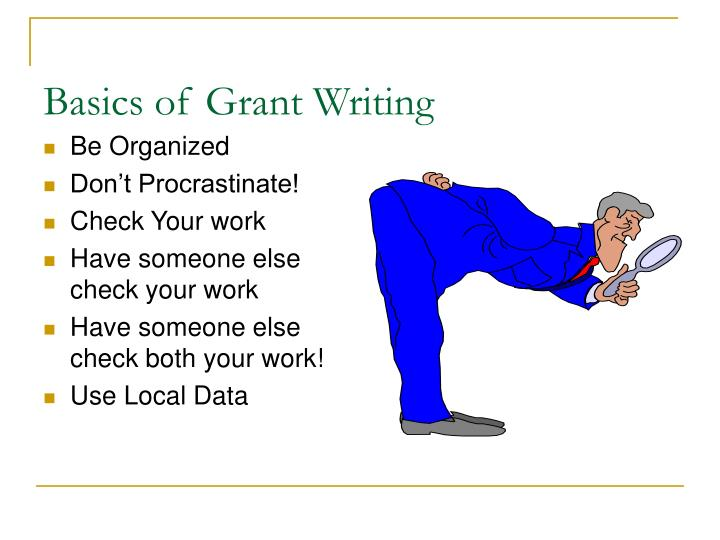 Basics of Grant Writing
