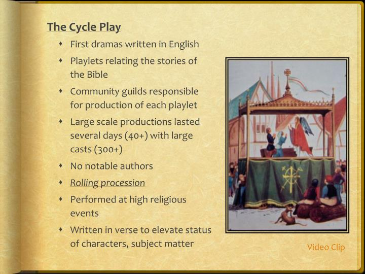 The Cycle Play