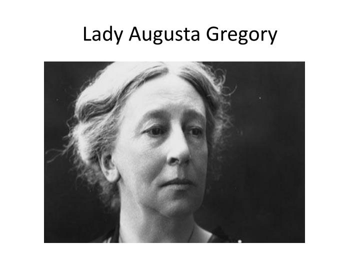 Lady Augusta Gregory