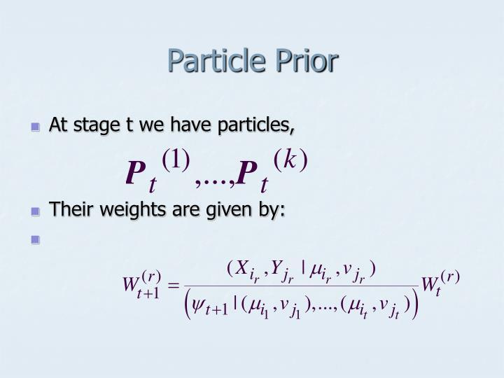 Particle Prior