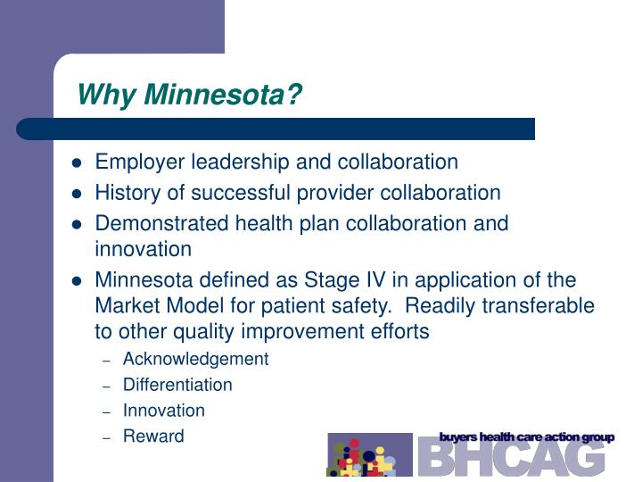 Why Minnesota?