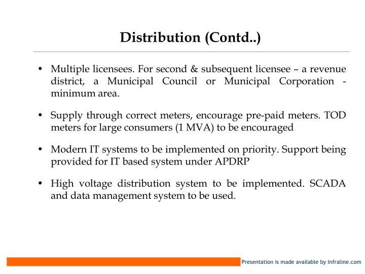 Distribution (Contd..)