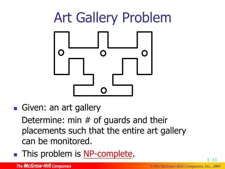 Art Gallery Problem