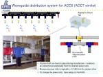 waveguide distribution system for acc6 acc7 similar