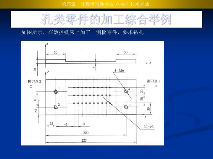 孔类零件的加工综合举例