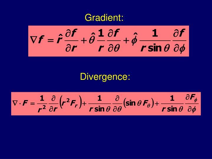 Gradient: