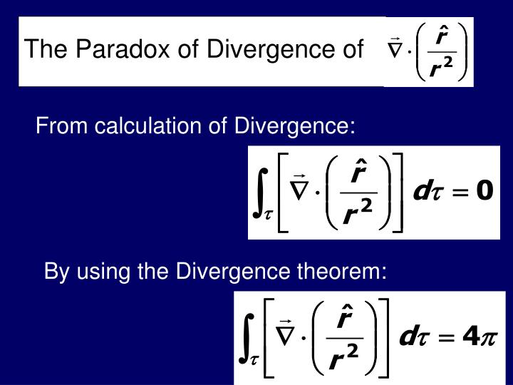 The Paradox of Divergence of