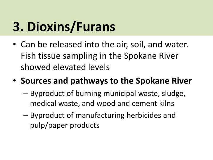 3. Dioxins/Furans