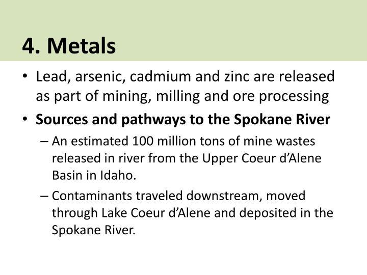 4. Metals