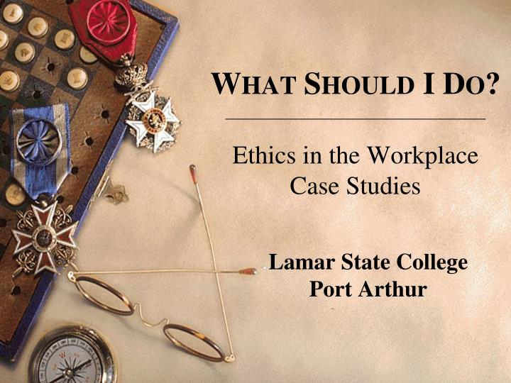 workplace ethics in information technology case studies