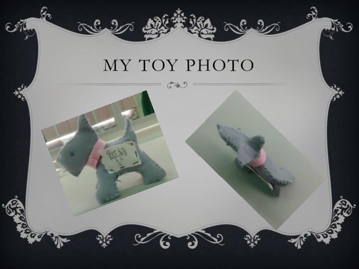 My toy photo