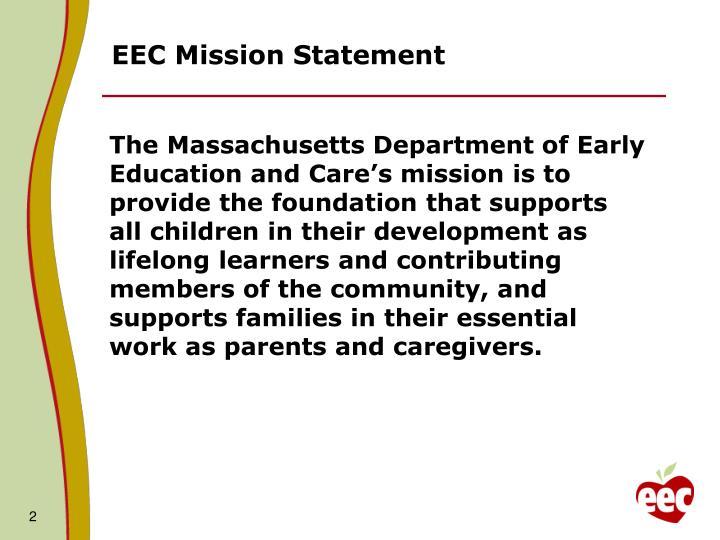 EEC Mission Statement
