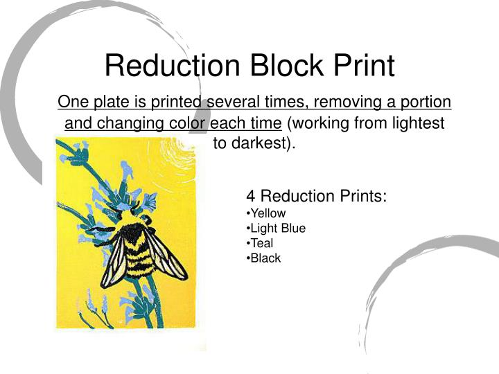 Reduction Block Print